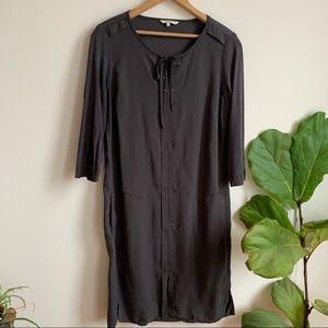 Sandwich Dark Grey Dress Pockets Midi 8